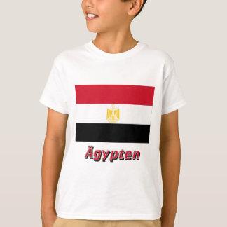 Ägypten Flagge mit deutschem Namen T-Shirt