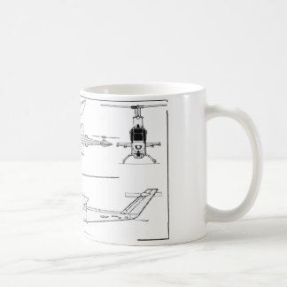 AH1 Blueprint Coffee Mugs