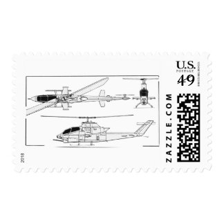 AH1 Blueprint Postage