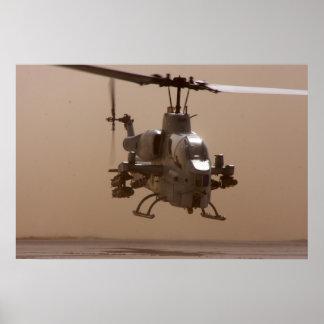 AH-1W Super Cobra Poster