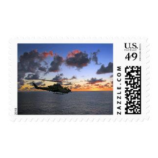 AH-1W Super Cobra USMC Stamp