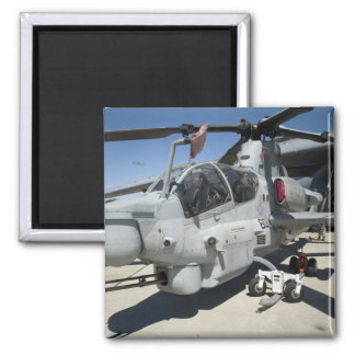 AH-1Z Super Cobra attack helicopter 2 Inch Square Magnet