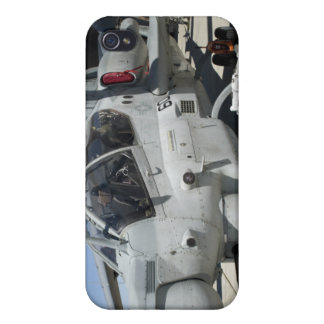 AH-1Z Super Cobra attack helicopter iPhone 4 Cover
