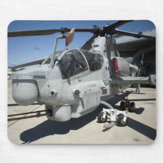 AH-1Z Super Cobra attack helicopter Mouse Pad