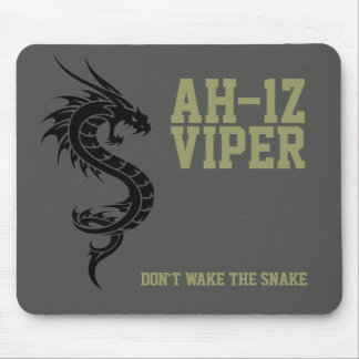 AH-1Z Viper Attack Helicopter Mousemat Mouse Pad