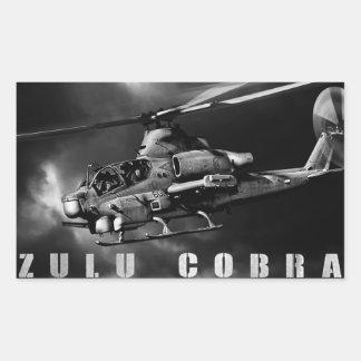 AH-1Z Viper Rectangular Sticker