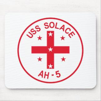 AH-5 USS SOLACE Hospital Ship Military Patch Mousepad