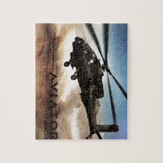 AH-64 Apache Helicopter Jigsaw Puzzle