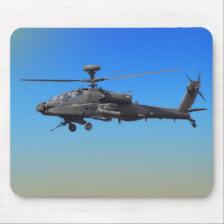 AH-64 Apache Helicopter Mouse Pad