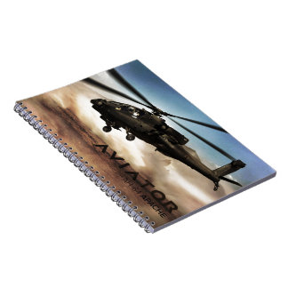 AH-64 Apache Helicopter Notebooks