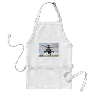 ah 64 apache longbow helocopter military adult apron