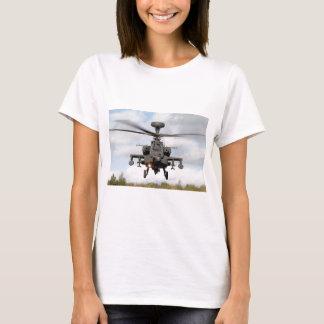ah 64 apache longbow helocopter military T-Shirt