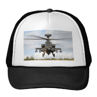 ah 64 apache longbow helocopter military trucker hat