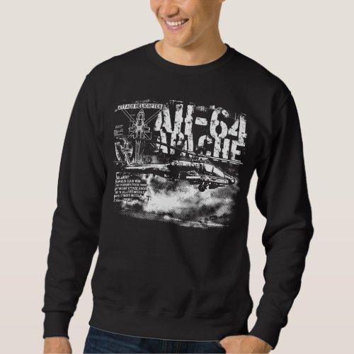 AH_64 Apache Mens Basic Sweatshirt