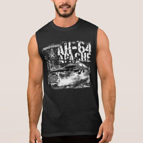 AH_64 Apache Mens Ultra Cotton Sleeveless T_Shirt