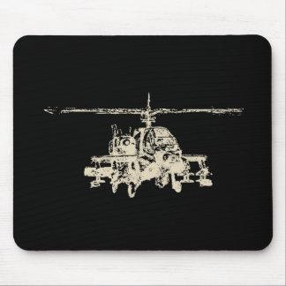 AH-64 Apache Mouse Pad