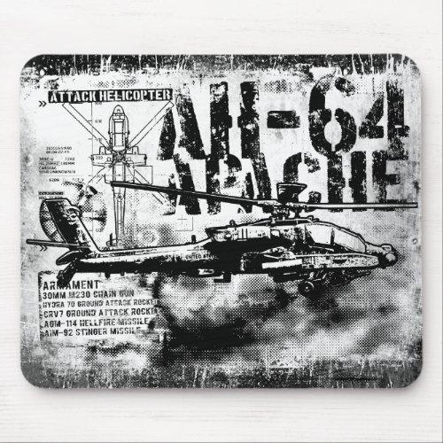 AH_64 Apache Mousepad