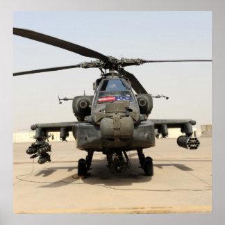 AH-64 Apache Posters