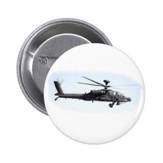 AH-64 Apache Pinback Button