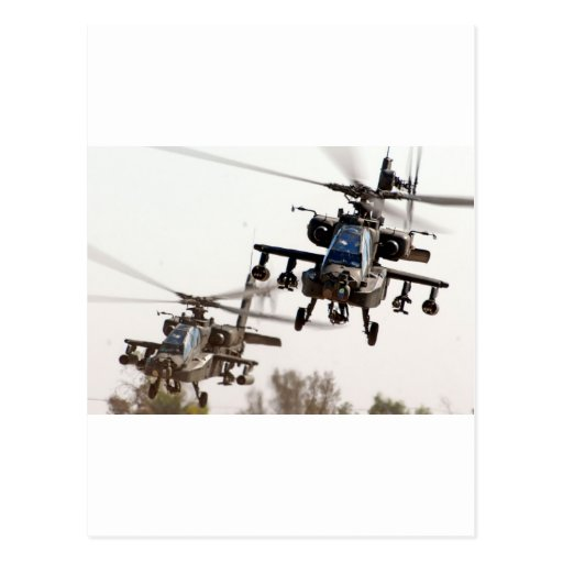 AH-64 Apache Postales