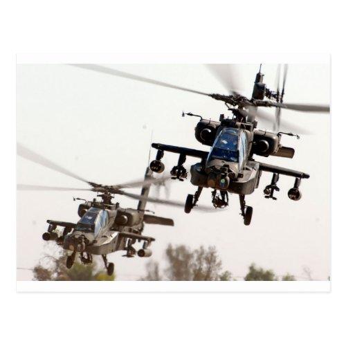 AH_64 Apache Postcard