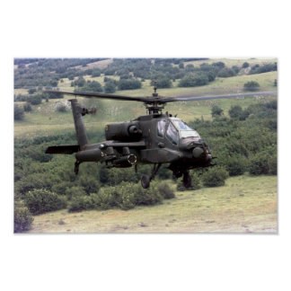 AH-64 Apache Posters