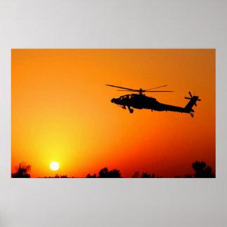 AH-64 Apache Poster
