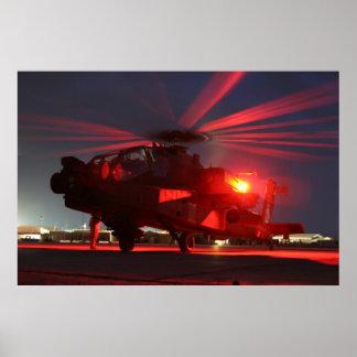 AH-64 Apache Póster