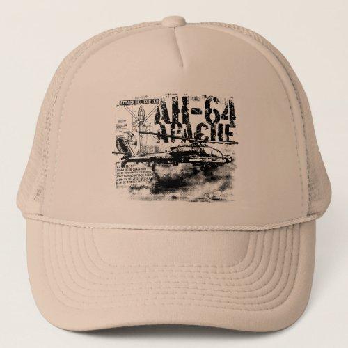 AH_64 Apache Trucker Hat