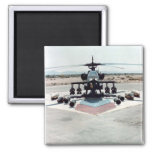 Ah-64_ground_with_weapons 2 Inch Square Magnet