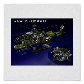 AH-64 Longbow Apache Print/Poster