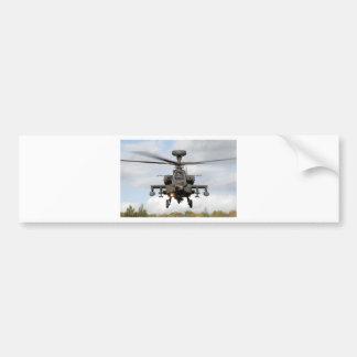 ah 64 militares del helocopter del arco de apache pegatina para auto