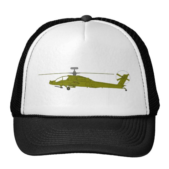 AH-64D attack helicopter Trucker Hat