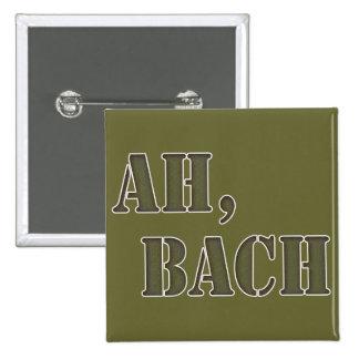 Ah Bach Pinback Button