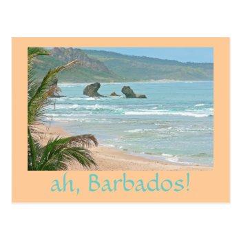 """ah  Barbados!"" Postcard (photog. Seascape) by whatawonderfulworld at Zazzle"