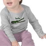 AH camisa divertida sonriente del cocodrilo