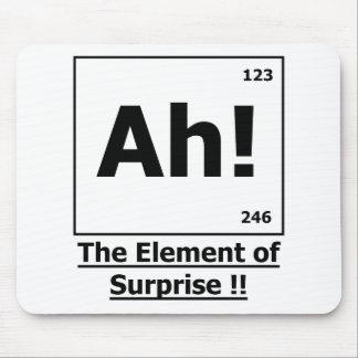 ¡Ah! El elemento de la sorpresa Mousepad Tapetes De Ratones