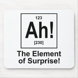 ¡Ah! El elemento de la sorpresa Alfombrillas De Ratones