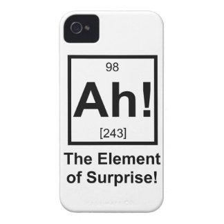 Ah el elemento del símbolo periódico del elemento iPhone 4 carcasas