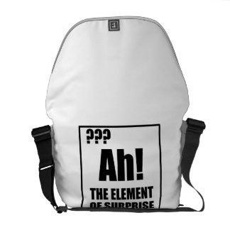 Ah Element Of Surprise Courier Bag