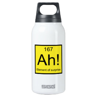 Ah! Element of Surprise Insulated Water Bottle