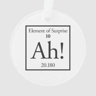 Ah elemento de la sorpresa