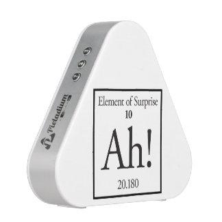 Ah elemento de la sorpresa altavoz bluetooth