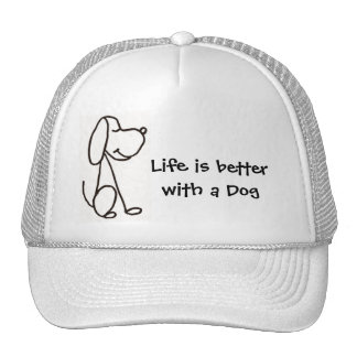 AH- Life is better with a Dog Hat
