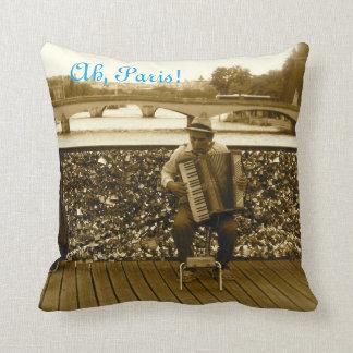 Ah, Paris! Pont des Arts Pillow