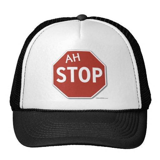 Ah STOP! Trucker Hat