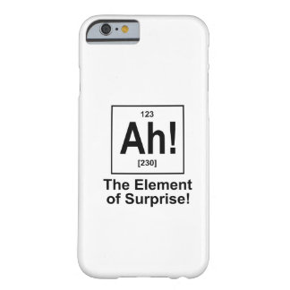 Ah! The Element of Surprise. Barely There iPhone 6 Case