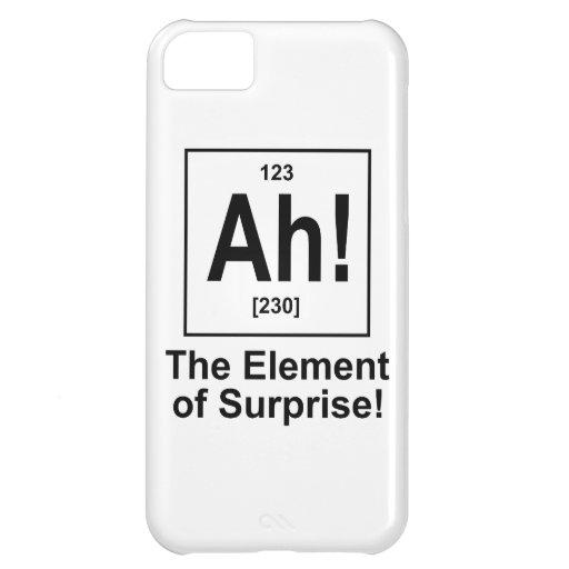 Ah! The Element of Surprise. iPhone 5C Case