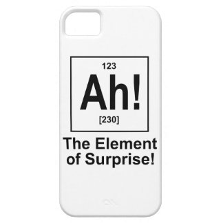 Ah! The Element of Surprise. iPhone 5 Cover