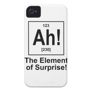 Ah! The Element of Surprise. Case-Mate iPhone 4 Case